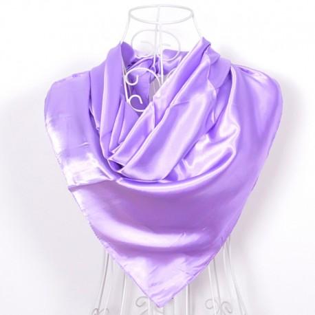 Levanduľová Šatka Saténová 90x90cm Lavender
