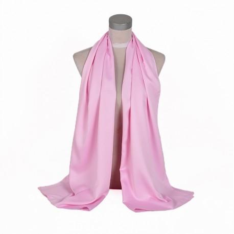 Ružová Šatka Saténová 180x65cm Pink