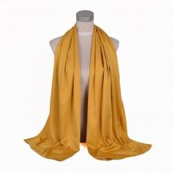 Zázvorová Šatka Saténová 180x65cm Ginger Yellow