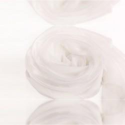 Biela Hodvábna Šatka 200x140cm White Momme 6