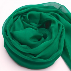 Zelená Hodvábna Šatka 200x140cm Green Momme 6